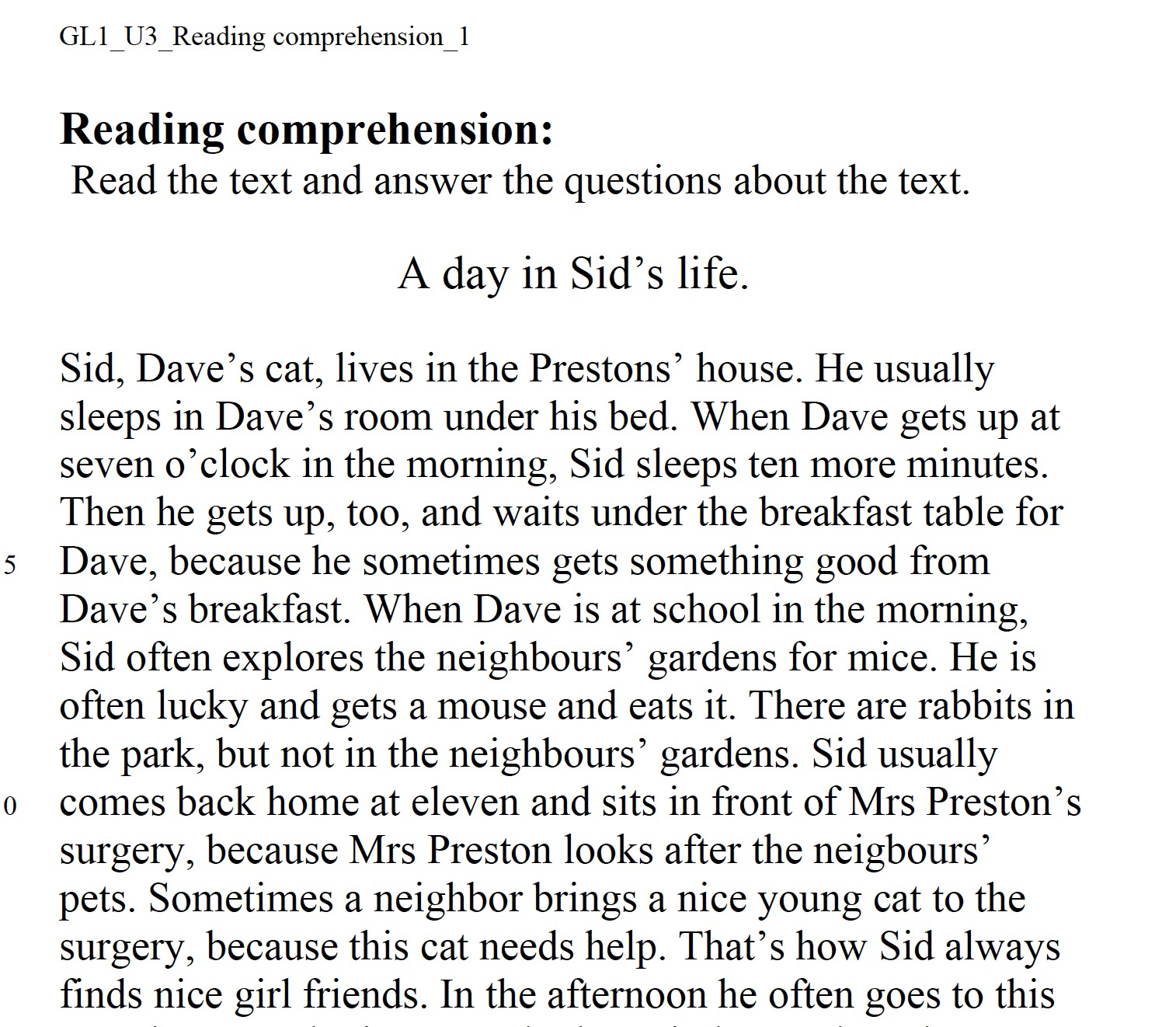 GL1_U3_reading comprehension_1_a